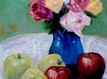 Rose and Apple